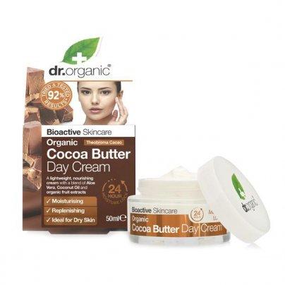 Crema Viso Giorno con Burro di Cacao - Organic Cocoa Butter