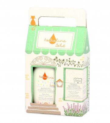 Cofanetto Regalo Bimbi: Detergente Bagnetto + Crema Protettiva