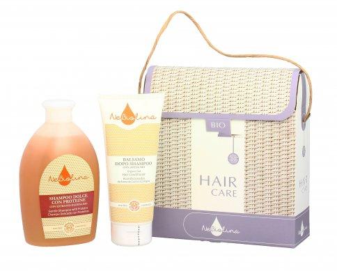 Cofanetto Capelli Hair Care - Shampoo Dolce + Balsamo