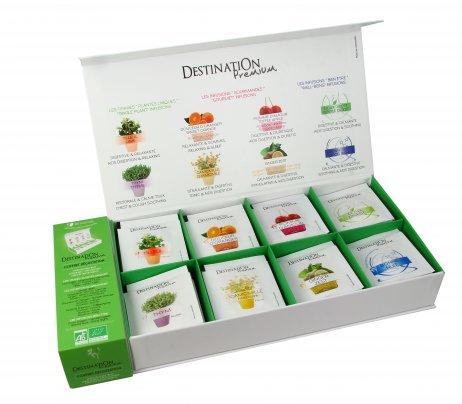 Cofanetto Tisane Bio Degustazione - Confezione Regalo