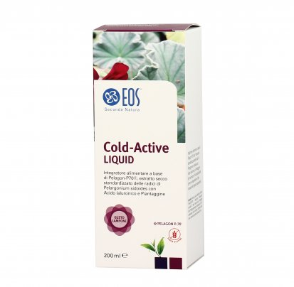 Cold Active Liquid gusto Lampone - Benessere Vie Respiratore