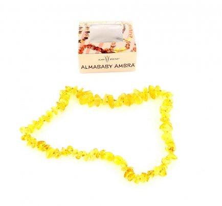 Collana Ambra Mamma - Nugget Honey