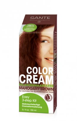 Tinta per Capelli Color Cream - Mogano Scuro (Mahogany Brown)