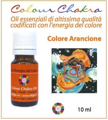 Colour Chakra Oil - Arancione 10 ml