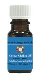 Colour Chakra Oil Blu - Tranquillità, calma, comunicazione 10 ml