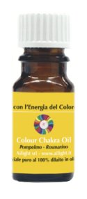 Colour Chakra Oil Giallo - Chiarezza, autostima, pensiero positivo 10 ml