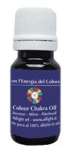 Colour Chakra Oil Indaco - Intuizione, visione, espansione 10 ml
