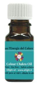 Colour Chakra Oil Turchese - Equilibrio, comunicazione, rigenerazione 10 ml