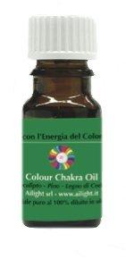 Colour Chakra Oil Verde - Compassione, Amore, Stabilizza le Emozioni