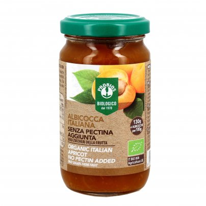 Composta di Albicocca Italiana Bio Senza Pectina
