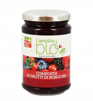 Composta di Frutti di Bosco Naturale