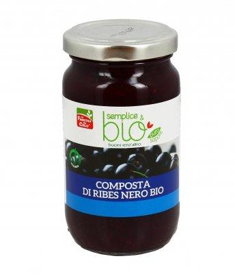 """Composta di Ribes Nero Bio """"Semplice&Bio"""""""