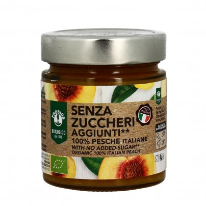 Composta 100% Pesca Italiane Senza Zuccheri Aggiunti