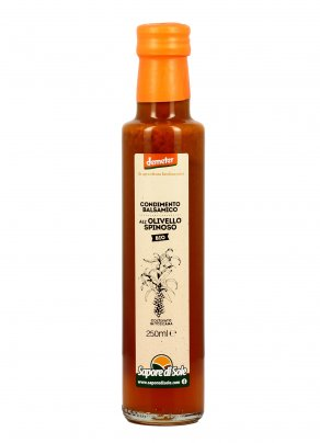 Condimento Balsamico all'Olivello Spinoso Bio