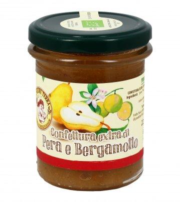 Confettura Extra di Pera e Bergamotto Bio