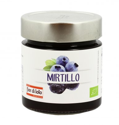 Composta di Mirtillo Bio 250 gr.