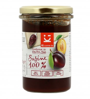 Conserva di Frutta Bio - Susine 100%