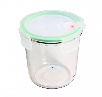 Contenitore Rotondo in Vetro per Alimenti - Air Round Microwave 720 ml.