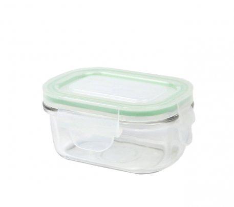 Contenitore Rettangolare in Vetro per Alimenti - Classic Type Microwave 150 ml.