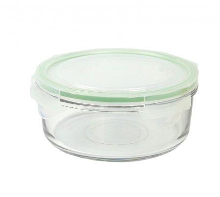 Contenitore Rotondo in Vetro per Alimenti - Classic Type Microwave 660 ml.