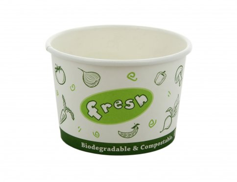 Contenitore Biodegradabile per Zuppe Calde