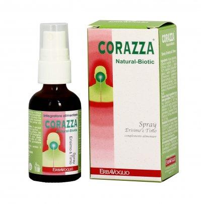 Spray Erisimo e Timo Corazza Natural Biotic - Vie Respiratorie