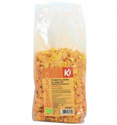 Corn Flakes al Malto Biologici (Formato Famiglia)