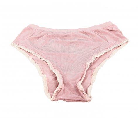 Mutanda Coulotte Vita Bassa - Color Rosa Antico Taglia S/M