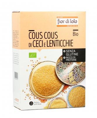 Cous Cous di Ceci e Lenticchie Bio - Senza Glutine