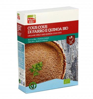 Cous Cous di Farro e Quinoa Bio