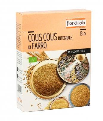 Cous Cous Integrale di Farro Bio