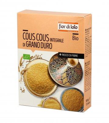 Cous Cous Integrale di Grano Duro Bio