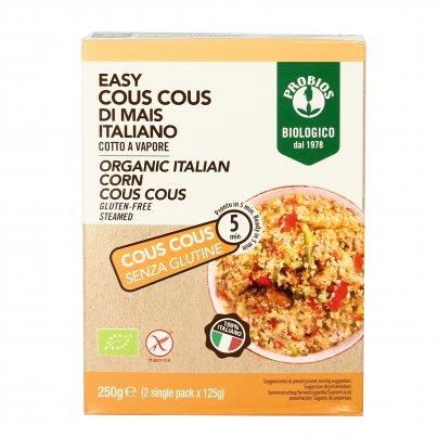 Easy Cous Cous di Mais Italiano Bio - Senza Glutine