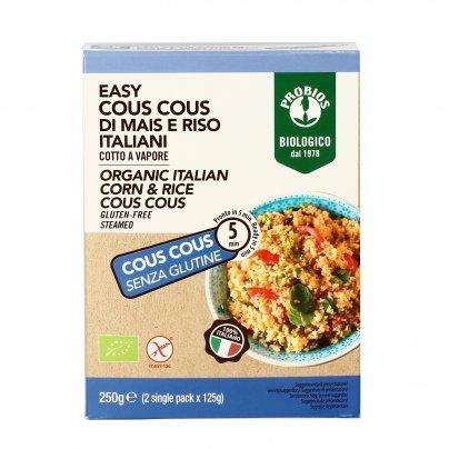 Easy Cous Cous di Mais e Riso Italiani Senza Glutine