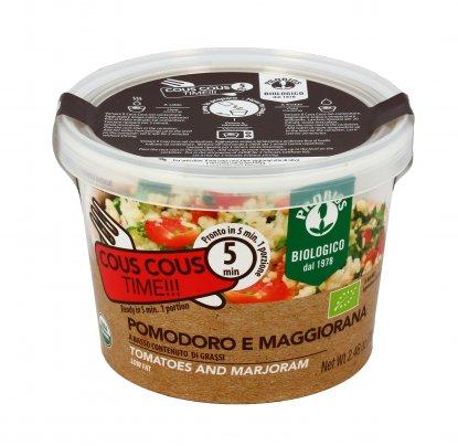 Cous Cous Istantaneo con Pomodoro e Maggiorana