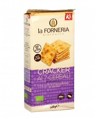 Cracker ai 7 Cereali Bio
