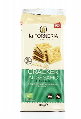Cracker al Sesamo Biologici - Ki Group