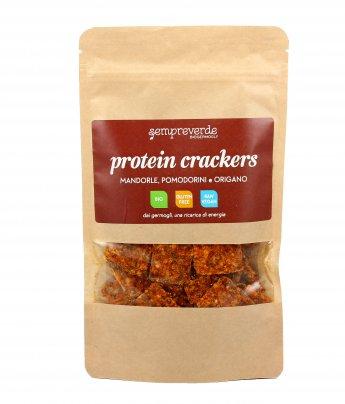 Cracker con Mandorle, Pomodorini e Origano - Protein Crackers