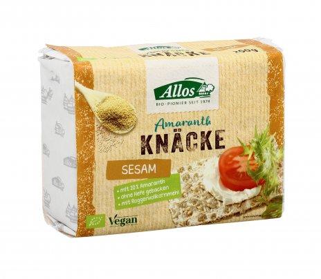 Crackers Integrali di Amaranto e Sesamo