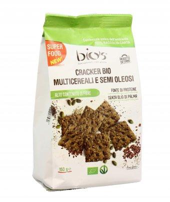 Cracker Bio Multicereali e Semi Oleosi