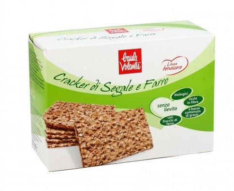 Cracker di Segale e Farro Bio - Senza Lievito