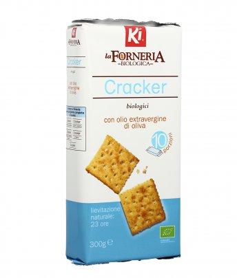 Cracker Biologici con Olio Extravergine di Oliva - La Forneria