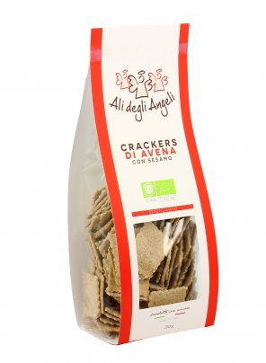 Crackers di Avena con Sesamo Bio