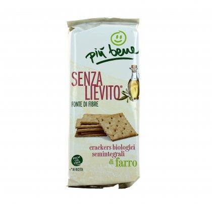 Crackers Biologici Semintegrali di Farro