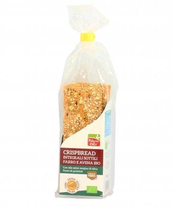 Crackers Crispbread Integrali Sottili Farro e Avena Bio