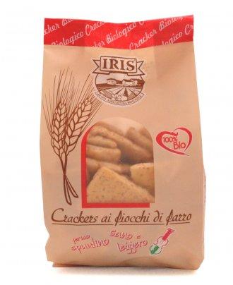 Crackers ai Fiocchi di Farro Bio