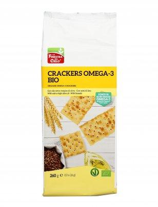 Crackers Omega 3 Bio con Semi di Lino