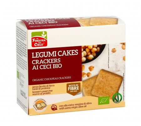 Crackers di Ceci Bio - Legumicakes