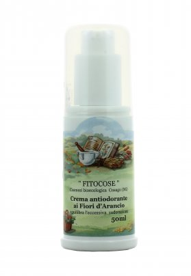 Crema Antiodorante ai Fiori d'Arancio