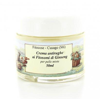 Crema Antirughe ai Fitosomi di Ginseng